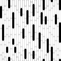 Black-white seamless background