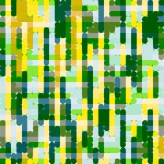 Yellow-green grid pattern