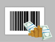 barcode product price illustration