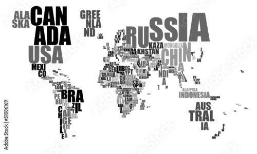 Text Weltkarte © Dirk Vonten