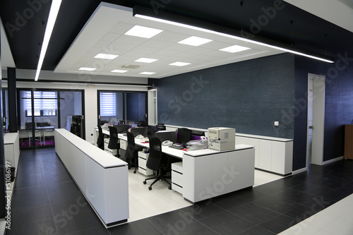 canvas print picture Modern office interior