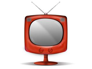 téléviseur vintage sur pied
