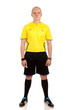 Full length portrait of a referee.