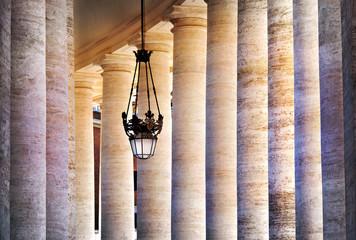 Säulengang Petersdom Rom - Portico St. Peter Rome