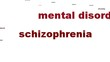 Schizophrenia mental health symbol