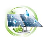 Solar panel label