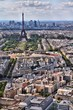Eiffel Tower cityscape in Paris, France