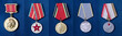 Military medals of the Soviet Union