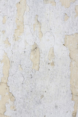 Textura de muro despintado, viejo, antiguo, en mal estado.
