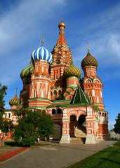 Catedral de San Basilio en Moscu, Rusia