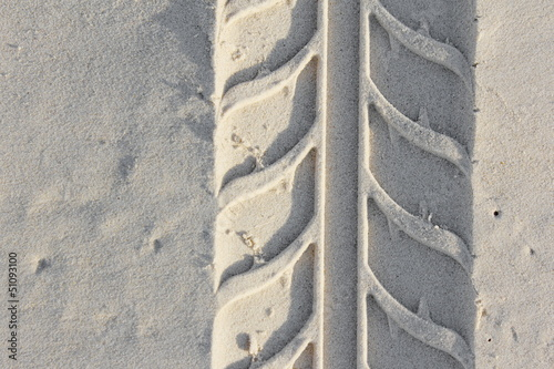 Abstract Macro Tyre Track