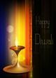 happy diwali shiny beautiful bright celebration vector backgrou