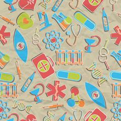 Medical seamless pattern