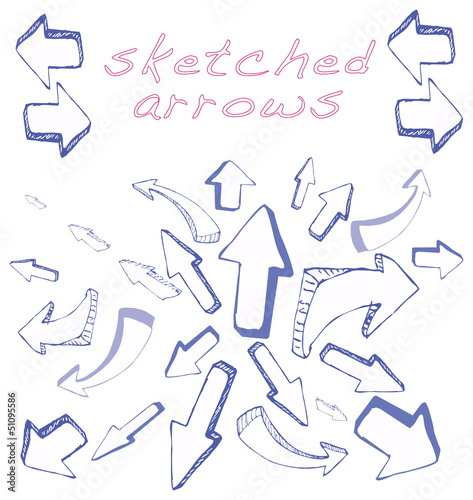 Arrows Sketched