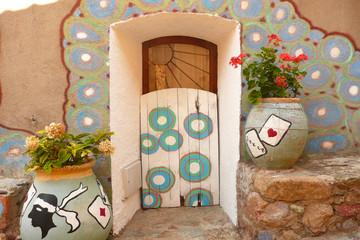 Korsika Symbole und bunte Bemalung