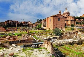 Rome - Ruins Foro Romano