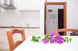 Sitting kitchen area