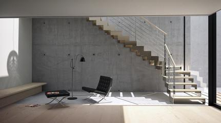interno con scala01