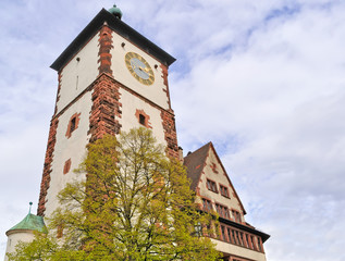 clock tower in Germany