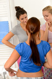 Typical teenager girls weight problems poster