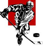 brutal hockey poster