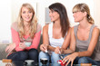 Women having a coffee