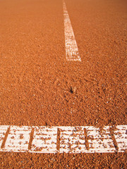 Tennisplatz Linie 83