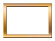 Bilderrahmen, gold, glänzend, Format 2:3, Schatten