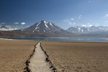 Chilean plateau lagoons