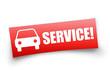 PKW-Service! Button, Icon