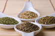 Different aromatic herbs