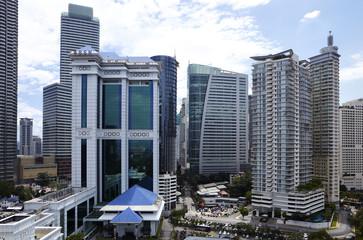Hochhäuser, Kuala Lumpur 01