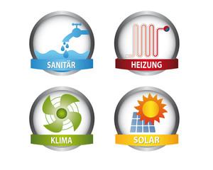 Sanitär Vektor Icons
