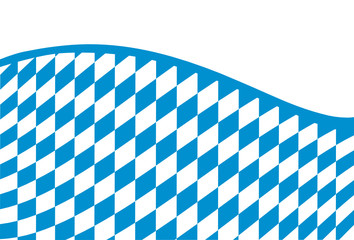 Bavaria Flaggenausschnitt