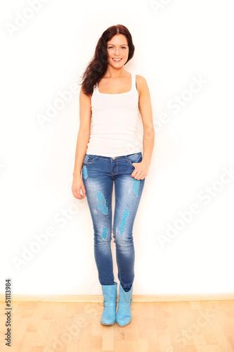 modische junge Frau