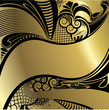 Black and Gold Art