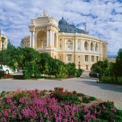 Opera Theatre in Odessa, Ukraine