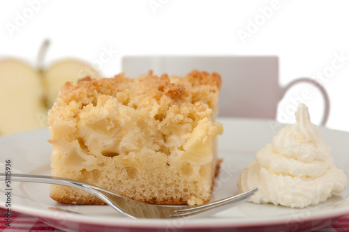 Apfelstreuselkuchen