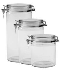 Kitchen jars.