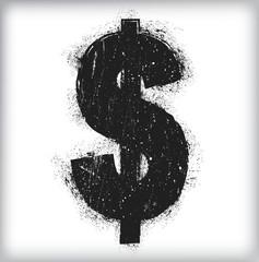 Dollar grunge
