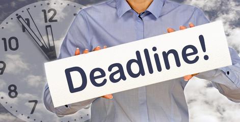 Deadline !