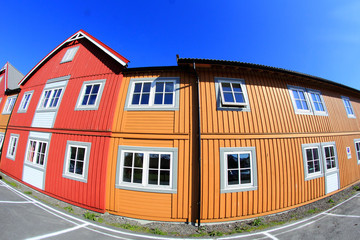 Coloured houses of Svolvær