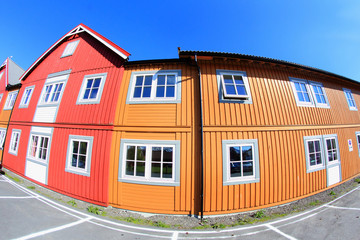 Coloured houses of Lofoten