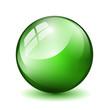 Glas Kugel Grün