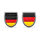 Germany flag emblem