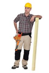 Casual carpenter.