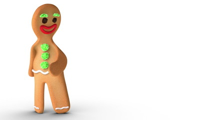 Gingerbread Man is Reconsidering