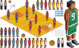 Basketball Tactical Kit Cutout