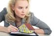 Frau hat bedenken wegen Haus Kauf Finanzierung