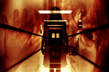 Scary Horror Hospital Corridor Yurei Japanese Ghost